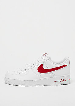 NIKE Nike Air Force 1 '07 3 white/gym red