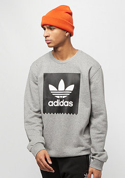 adidas Skateboarding BB Crewneck core heather/black/white
