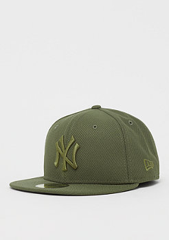 New Era 59Fifty MLB New York Yankees Diamond new olive