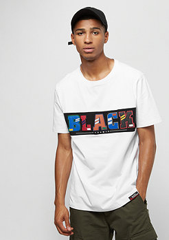 Black Pyramid BP Letters SS Shirt white