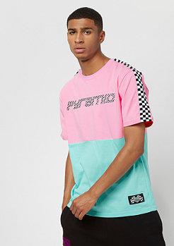 Black Pyramid Micro Checker Block pink