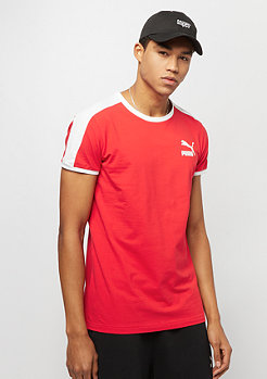 Puma Iconic T7 Slim Tee high risk red