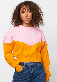 NIKE Sportswear NSW HRTG flc orange peel/med soft pink/white