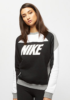 NIKE Sportswear NSW fleece white/black/carbon heather/white