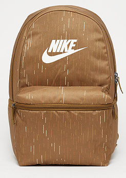 NIKE NK Heritage BK AOP ale brown/ale brown/pale ivory