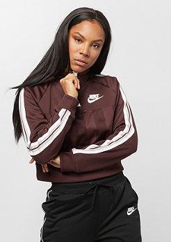 NIKE Sportswear NSW half zip shadow stripe el dorado/plum chalk/white