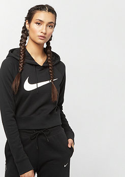 NIKE Swoosh Crop black/white