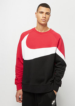 NIKE HBR Crew university red/white/black/black