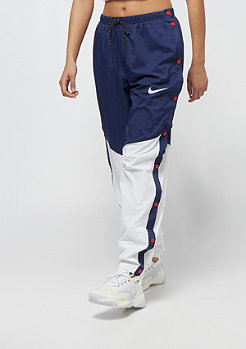 NIKE WR Pant Popper blue void/white/blue void/white