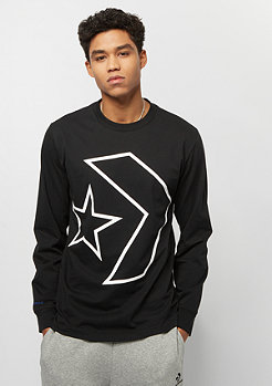 Converse Tilted Star Chevron LS converse black