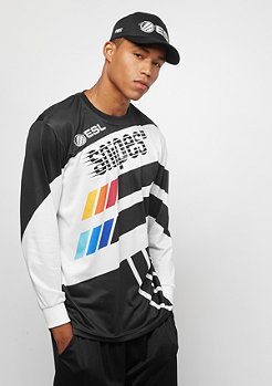 SNIPES ESL Trikot Longsleeve black/white