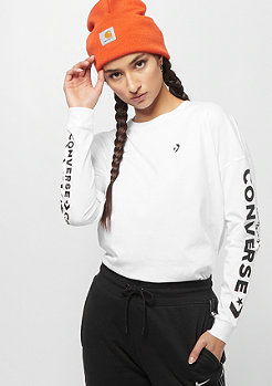 Converse Wordmark Long Sleeve white