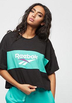 Reebok CL V P Cropped black/timeless teal