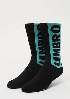 Umbro Horizon Tube Sock black/ceramic/berry pink