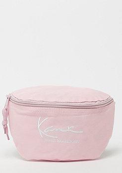 Karl Kani Signature Waist bag rose/white