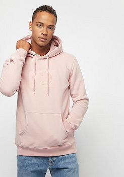 Criminal Damage Muscle Pullover Hood pink