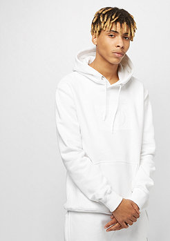 Criminal Damage Muscle Pullover Hood white