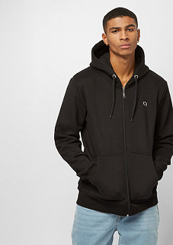 Criminal Damage CD Muscle Zip Hood black