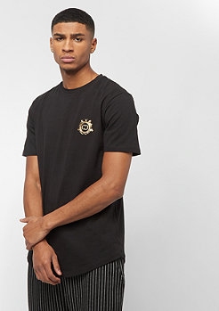 Criminal Damage Royal Tee black/gold