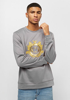 Criminal Damage CD Sweater Wise grey/gold