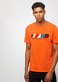 Black Pyramid Pyramid World Wide orange