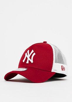 New Era A-Frame Trucker MLB New York Yankees scarlet