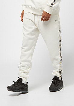 Criminal Damage Jogger Check off white/multi