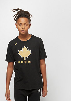NIKE Junior NBA CE Toronto Raptors Dry ES SS black