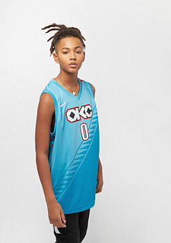 NIKE Junior NBA Oklahoma City Thunder Russell Westbrook CE teal