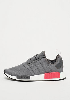 adidas NMD_R1 grey/grey/shock red