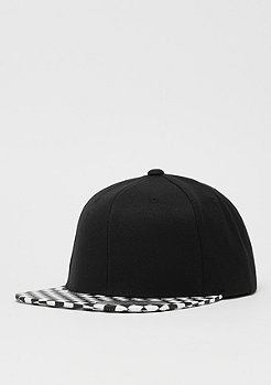 Flexfit Checkerboard Snap black/white