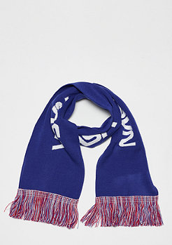 Mister Tee NASA Scarf Knitted blue/red/white