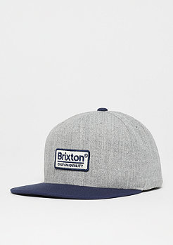 Brixton Palmer II MP heather grey/navy