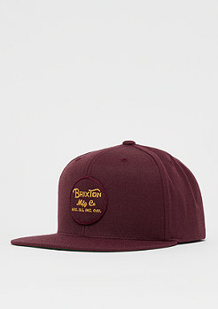 Brixton Wheeler Snap chestnut