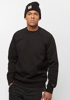 Carhartt WIP Chase Sweatshirt black/gold
