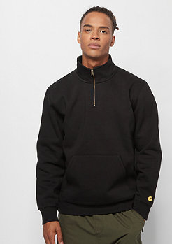 Carhartt WIP Chase Neck Zip black/gold