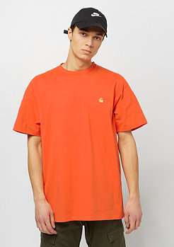 Carhartt WIP S/S Chase pepper / gold
