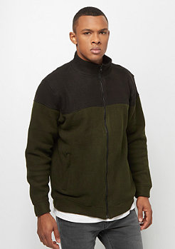 Urban Classics  Polar Fleece Jacket olive/black