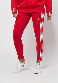 adidas 3 Stripes Tight red