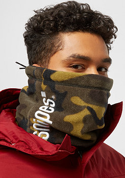 SNIPES Reversible Neckgaiter black/camo