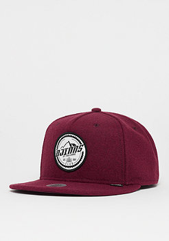 Djinn's 5P SB Get High Felt wine/black