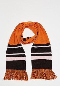 SNIPES Basic Logo Scarf orange/black