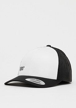SNIPES Box Logo Trucker Cap black