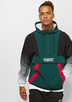SNIPES Block Gradient Windbreaker green/black/white/red