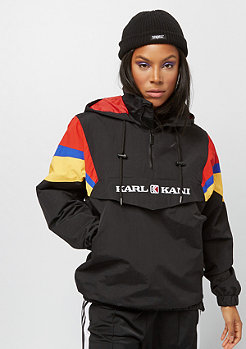 Karl Kani KK Block Windbreaker black red green yellow