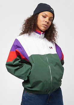 Karl Kani KK Block Windrunner green white purple red