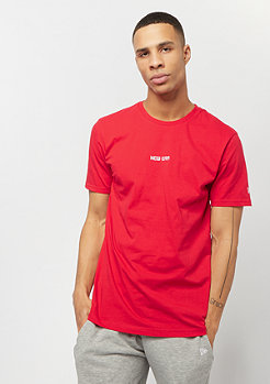 New Era Essential Tee red