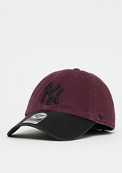 47 Brand MLB New York Yankees Two Tone dark maroon