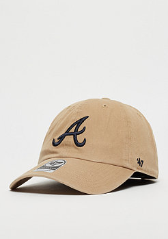 47 Brand MLB Atlanta Braves khaki