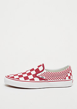 VANS UA Classic Slip-On (Mix Checker) chili pepper/true white